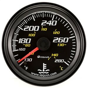 Equus 6242 6000 Series Water Temp Gauge