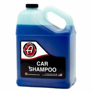 Adams New Car Wash Shampoo Gallon Concentrated Formula Cleaning Ph Neutral