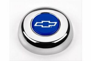 Grant Products 5630 Horn Button Steel Chrome Bowtie Emblem For Challenger Classi