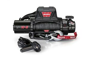 Warn Vr10 S 10 000 Lb Winch W Synthetic Line 96815 Same Day Free Shipping