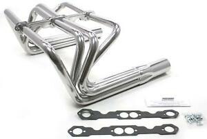 Patriot Roadster Sprint Style For T bucket Headers Silver Ceramic 1 5 8 H80691