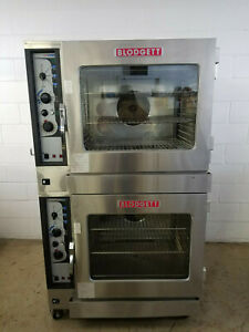 Blodgett Bc14g ab Double Stack Combi Ovens Nat Gas 115 Volts 1 Phase Tested