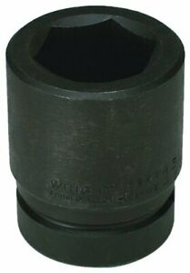 Wright Tool 8868 2 1 8 inch With 1 inch Drive 6 Point Standard Impact Socket
