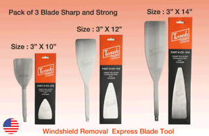 Torpedo Windshield Auto Glass Removal Express Cut Out Blade Tool Blade