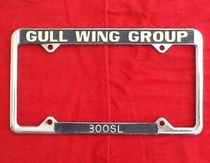 Mercedes Benz 300sl Gullwing License Plate Frame Gull Wing Group