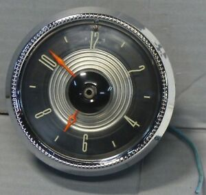 Pato Automotive Clock By West Clox 2279016 Good Used Condition Chevrolet Ford