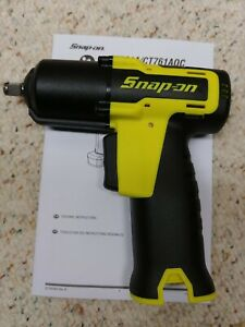 Snap On Ct761ahv 3 8 Drive Microlithium 14 4 Volt Impact Wrench Tool Only New