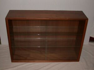 Poul Cadovius Cado Mid Century Danish Teak Wood Cabinet Wall Unit Free Glass
