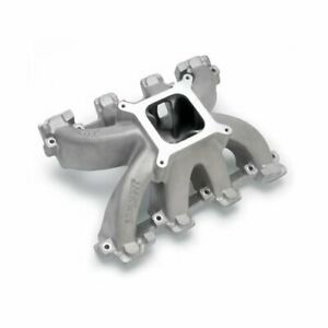 Edelbrock Super Victor Ls1 Carbureted Intake Manifold Chevy Ls V8 Fits Ls1 Heads