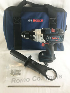 Bosch Brute Tough 18v Brushless Hammer Drill Bag Hdh183 upgrade Of Hdh181x