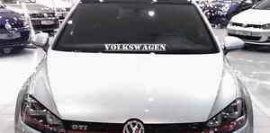 Volkswagen Vw 23 Windshield Decal Sticker Euro Jetta Golf Gti Beetle Window