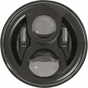 Jw Speaker Model 8700 Evolution 2 7 Inch Round Led Headlight With Dual Burn