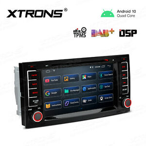 For Vw Touareg 2004 2011 Android 10 0 Obd2 Wifi 2din Radio Gps 7 Car Dvd Player