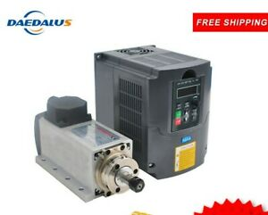 Spindle 1 5kw 110v 220v Motor Cnc Spindle Er11 Router 1 5kw Converter Inverter