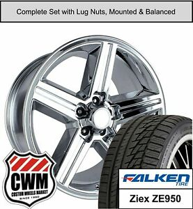 16 Inch Wheels And Tires For Chevy Camaro Chrome 16x8 Iroc Rims Fit 1982 1992
