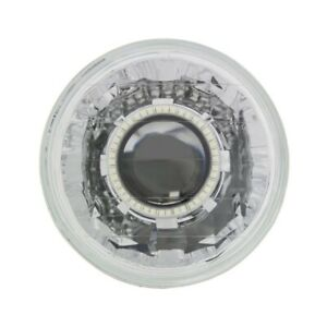 Ipcw Cwc 7008e 7 Round Halo Projector Conversion Headlamp Universal Chrome