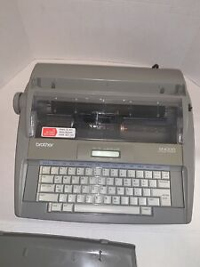 Brother Sx 4000 Electronic Typewriter W cover