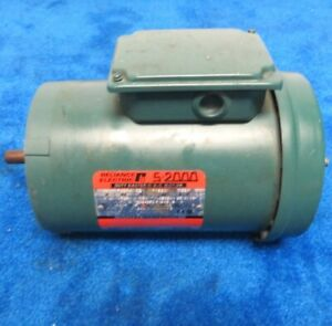 Reliance S 2000 Duty Master Ac Motor 1hp 1725 Rpm Frame Fc56c 5 8 Shaft