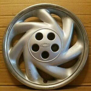 Chevy Cavalier Beretta 15in Hubcap Wheel Cover 1994 1999 Oem Silver Ds840