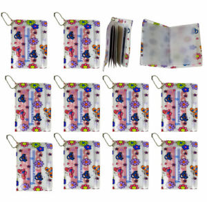 12 Id Credit Card Holder Organizer Book 6 Inner Pockets 2 Side Compartment