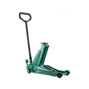 Esco Low Hgt Floor Trolley Jack W Foot Pedal 2 Ton 90530