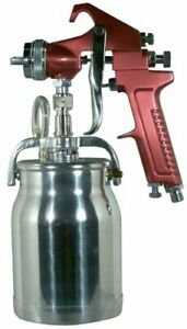 Astro Pneumatic 4008 Spray Gun With Cup Red Handle 1 8mm Nozzle