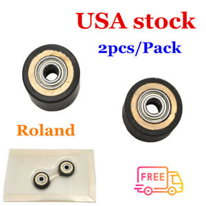 Us Stock 2pcs Roland Xc 540 Sc 540 Pinch Roller Td16s4 Type2 21565102