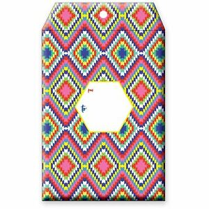 Small Printed Padded Mailing Envelopes Bohemian 24 Pieces
