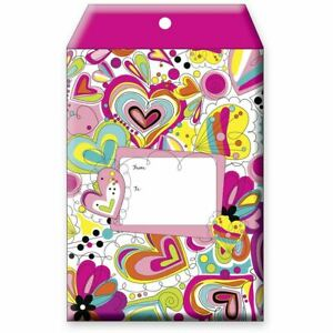 Small Valentine Love Printed Padded Mailing Envelopes Cheerful 24 Pieces