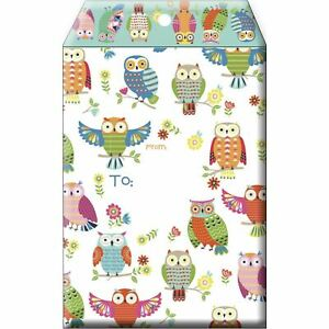 Small Printed Padded Mailing Envelopes Cute Owls 24 Pieces