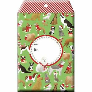 Small Christmas Printed Padded Mailing Envelopes Santa s Dogs 24 Pieces