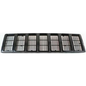 New Grille Black Front For Jeep Cherokee 1991 1996 Ch1200177 5080643ab 4 2 Door