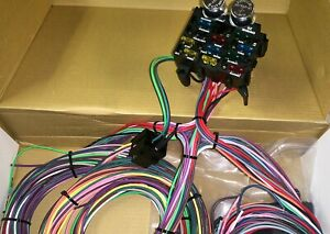 E z Wiring Universal Full Car Wire Harness System 12 Circut Marked Copper Wire