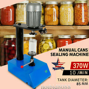 370w Manual Sealing Cans Machine Dried Fruit Tin Can Sealer 85mm 3 3inch Mold