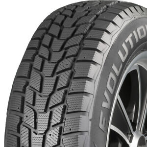 1 New 235 45r17 Cooper Evolution Winter Tire 94 H