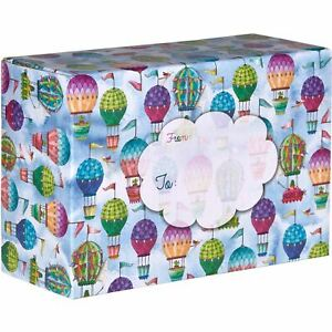Small Baby Printed Gift Mailing Boxes Hot Air Balloons 24 Pieces