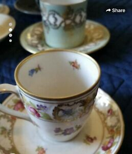 Lot Of Assorted Vintage Small Tea Cups