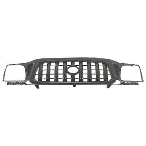 New Grille Black For Toyota Tacoma 2001 2004 To1200250 5310004250c0 4 door