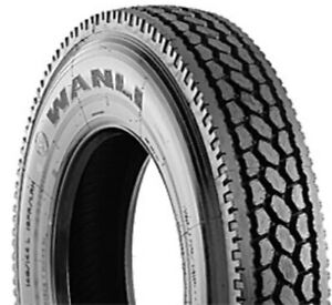 4 New Wanli Sdr06 St295 75r22 5 Load G 14 Ply Commercial Tires