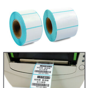 Blank Tag Cards Thermal Sticker Adhesive Paper Waterproof Package Label