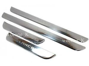 Door Sill Stainless Scuff Plate Use For Mitsubishi Lancer Mirage Ck2 1996 2002