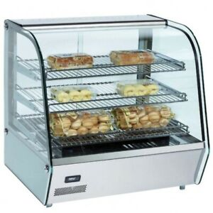 Marchia Mhc160 34 Heated Countertop Display Case With Rear Sliding Doors
