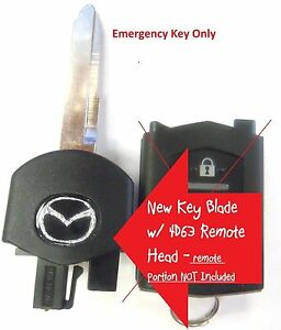New Switchblade Car Flip Key Blade 4d63 Chip 41788 For Mazda Mx 5 Keyless Remote