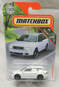 2018 Matchbox White 1994 Audi Avant Rs2 Road Trip Series 14 35 Mbx 20 125