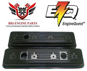 Eq Chevy Sbc 5 0 5 7 305 350 Vortec Center Bolt Steel Valve Covers 1987 2001
