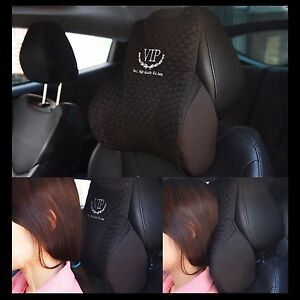 Vip Luxury Cushions Car Seat Head Neck Rest Cushion Headrest Pillow Pad