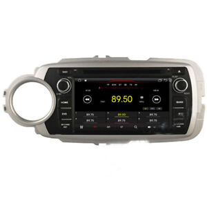 Android 9 1 Car Dvd Player Gps Radio Stereo Navi Bt For Toyota Yaris 2012 2015