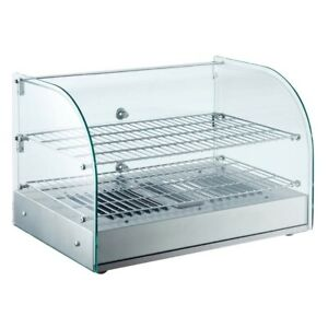 Marchia Hca45 22 Curved Glass Countertop Hot Food Warmer Display Case