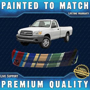 New Painted To Match Front Bumper Cover Fascia For 2000 2006 Toyota Tundra 00 06