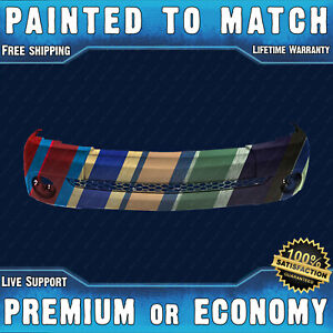 New Painted To Match Front Bumper Cover Replacement For 2000 2006 Toyota Tundra